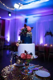 Μοντέρνα τούρτα γάμου