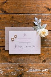 Elegant προσκλητηριο γαμου