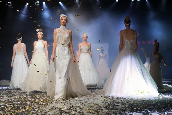 Υπεροχες νυφικες δημιουργιες απο Alkmini | 2020 Bridal Collection Fashion Show