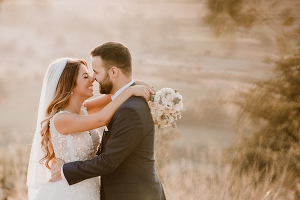Όμορφος καλοκαιρινός γάμος στην Λάρισα σε ροζ – λευκές αποχρώσεις | Μαρία & Πάνος