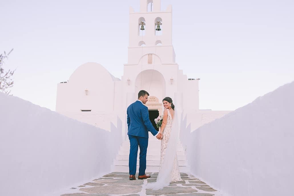 Παραμυθένιος καλοκαιρινός γάμος στη Σίφνο με θέα τη θάλασσα | Gabrielle & Beau