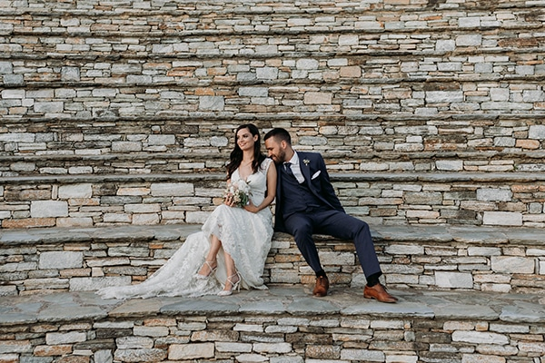 Ρομαντικός φθινοπωρινός γάμος στο Πήλιο σε παστέλ αποχρώσεις | Εύη & Τάσος