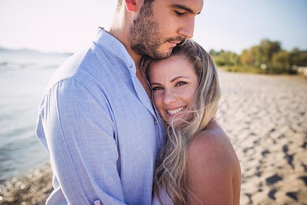 Ρομαντικο engagement shoot στην παραλια | Αμαλια & Μηνας