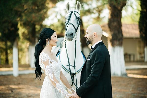 Ρομαντικος φθινοπωρινος γαμος στην Κοζανη σε λευκες αποχρωσεις | Δημητρα & Κωστας