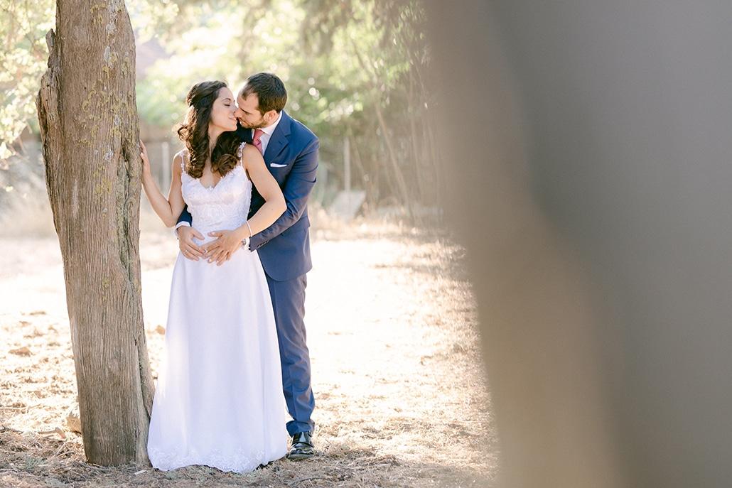 Ρομαντικός καλοκαιρινός γάμος στην Αθήνα με κλαδιά ελιά | Νάντια & Παναγιώτης