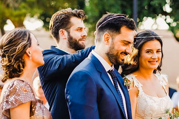 Καλοκαιρινός γάμος – βάφτιση σε μαγευτικό κτήμα της Αθήνας | Σωτηρία & Γιώργος