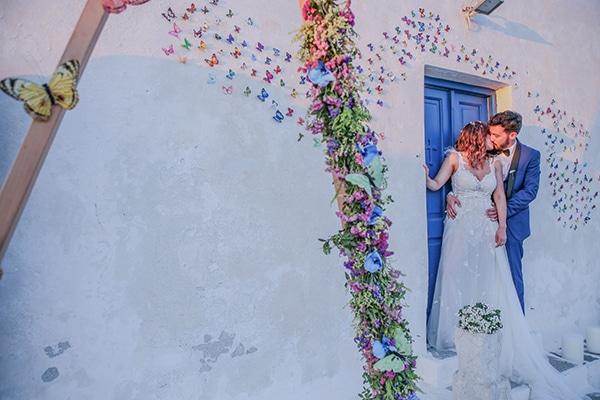 Καλοκαιρινός γάμος με μποέμ στυλ στη Πάρο | Λουτσιάνα & Πάρης