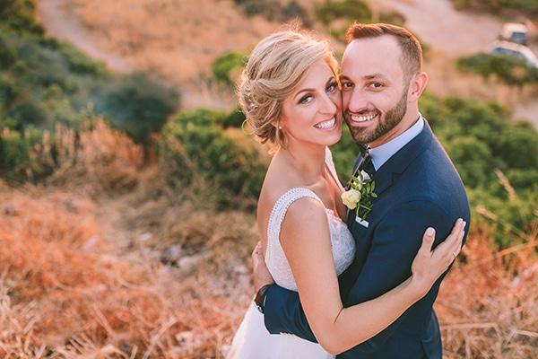 Τropical theme καλοκαιρινός γάμος με μαγευτική θέα στην Ανάβυσσο | Πένυ & Δημήτρης