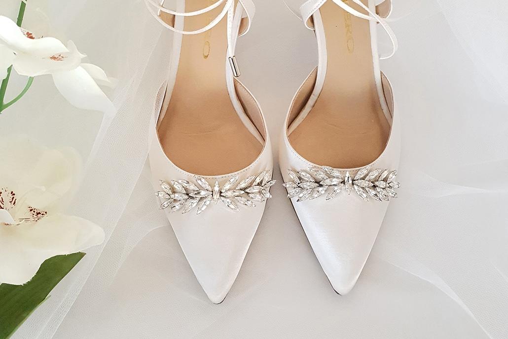 Μοναδικά chic παπούτσια που θα ολοκληρώσουν τη νυφική σας εμφάνιση | Bilero Shoes