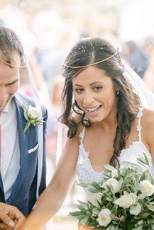 Ρομαντικά στέφανα γάμου