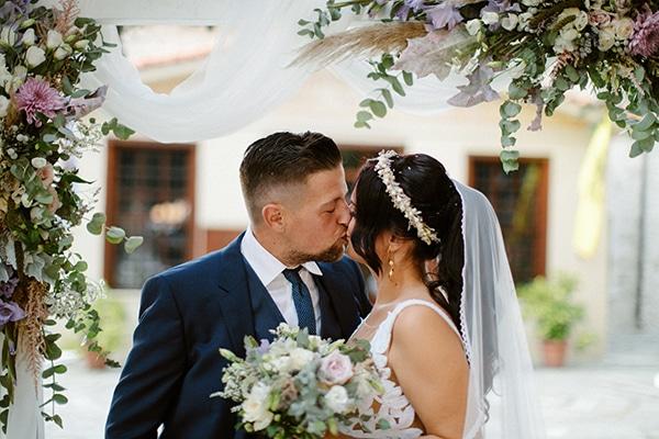 Όμορφος φθινοπωρινός γάμος στην Κοζάνη με elegant – ρομαντικές λεπτομέρειες | Ελευθερία & Δημήτρης