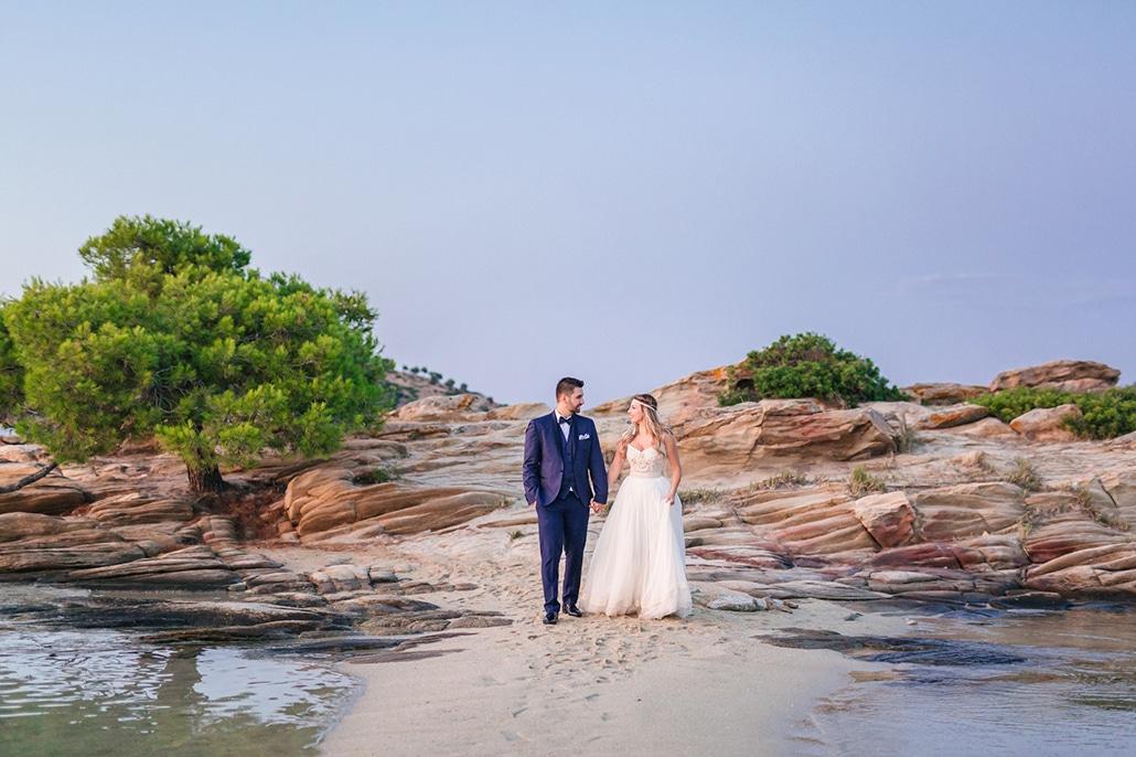 Boho chic καλοκαιρινός γάμος με rustic λεπτομέρειες στη Θεσσαλονίκη | Ρούλα & Άκης