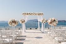 Flowery Santorini