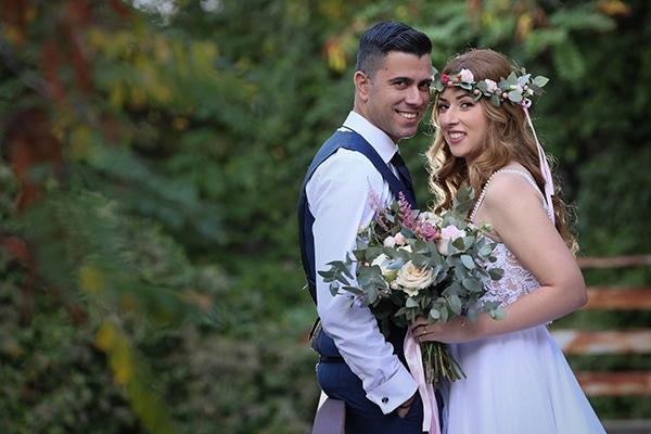 Ρομαντικος γαμος με ροζ και χρυσες αποχρωσεις στη Λευκωσια | Μαρια & Σωτηρης