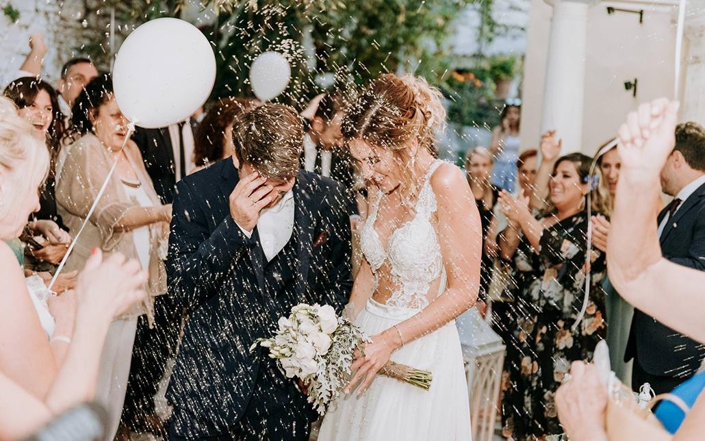 Καλοκαιρινός ρουστίκ γάμος στην όμορφη Κέρκυρα   Eυτυχία & Αλέξανδρος