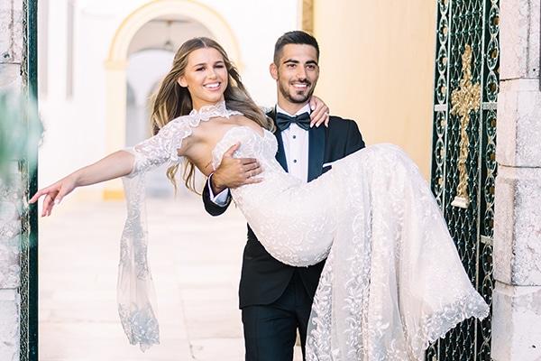 Ομορφος γαμος σε παστελ αποχρωσεις στην Αθηνα | Βαλερια & Κανελλος
