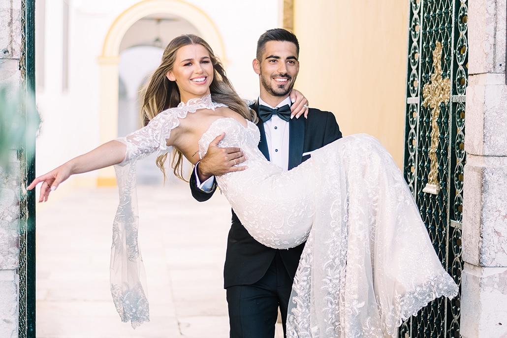 Όμορφος γάμος σε παστέλ αποχρώσεις στην Αθήνα | Βαλέρια & Κανέλλος