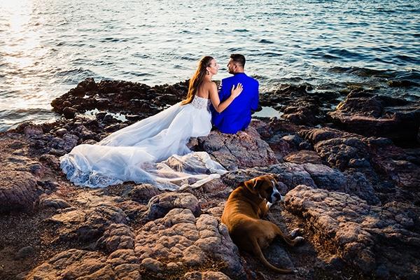 Πανέμορφος ρομαντικός γάμος σε παστέλ αποχρώσεις │ Μόνικα & Σπύρος
