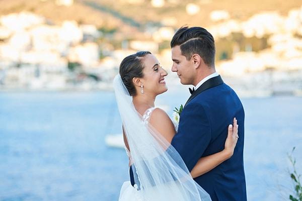 Ονειρεμένος γάμος στην Άνδρο | Χριστίνα & Σπύρος