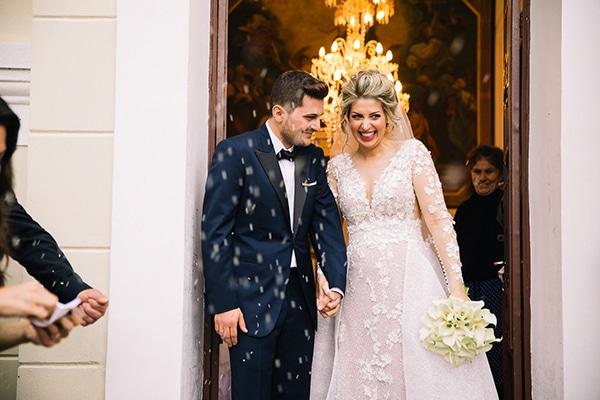 Ονειρεμένος γάμος με κάλλες στο Ναύπλιο | Βασιλική & Βασίλης