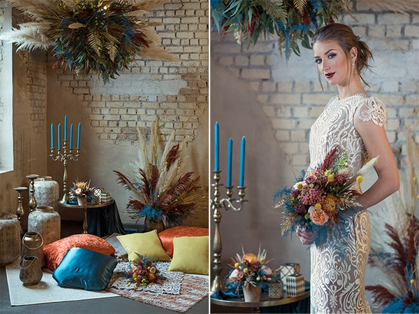 montern-bohemian-wedding-ideas-decoration-pampass-grass-exotic-flowers-vivid-colors_02A