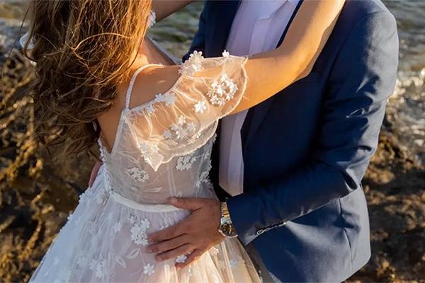 Ρομαντικό βίντεο φθινοπωρινού γάμου