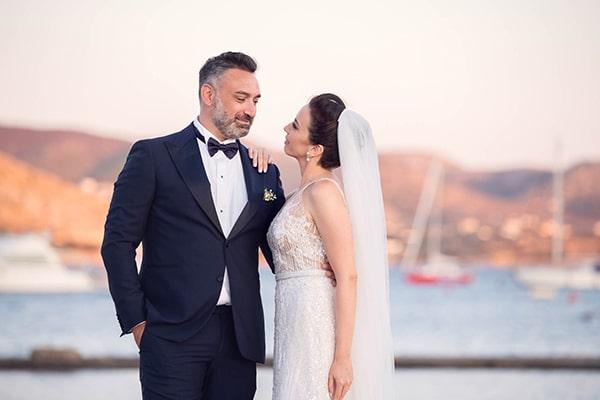 Καλοκαιρινος γαμος με λευκα λουλουδια στο Κτημα Χατζη | Τατιανα & Χρηστος