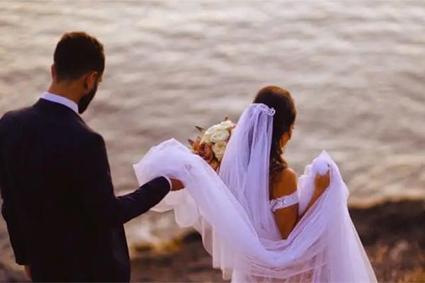 Υπέροχο βίντεο ρομαντικού γάμου στην Αθήνα με dusty pink πινελιές | Tracy & Aboudy