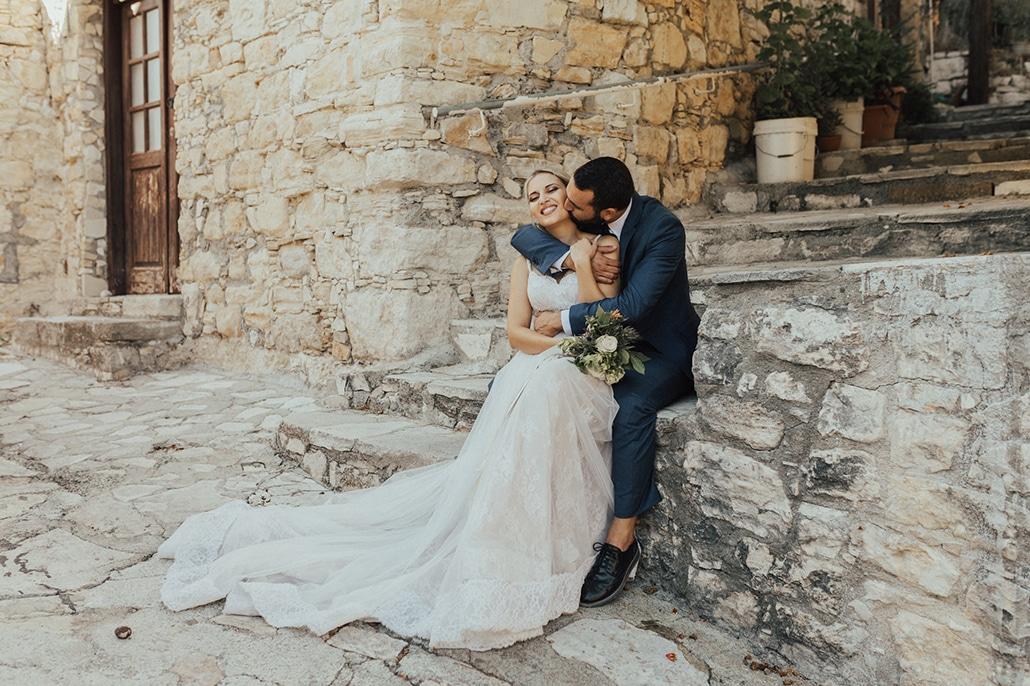 Πανέμορφος καλοκαιρινός γάμος στα Λεύκαρα | Όλγα & Νίκος