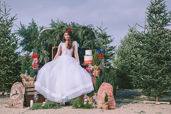 Ονειρεμενο Χριστουγεννιατικο styled shoot