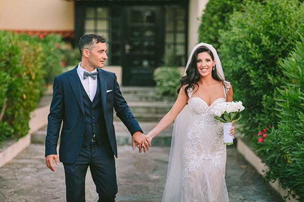 Ρομαντικός καλοκαιρινός γάμος στο κτήμα The Residence | Αναστασία & Χρήστος
