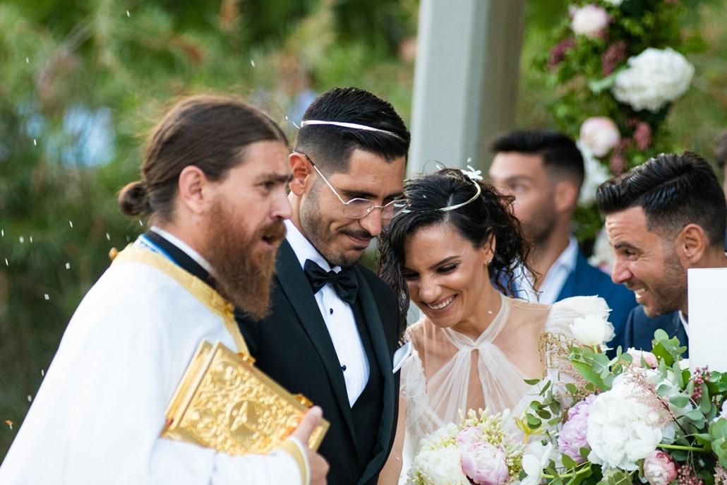 Κομψός καλοκαιρινός γάμος στο Λαγονήσι | Ελένη & Ιωάννης