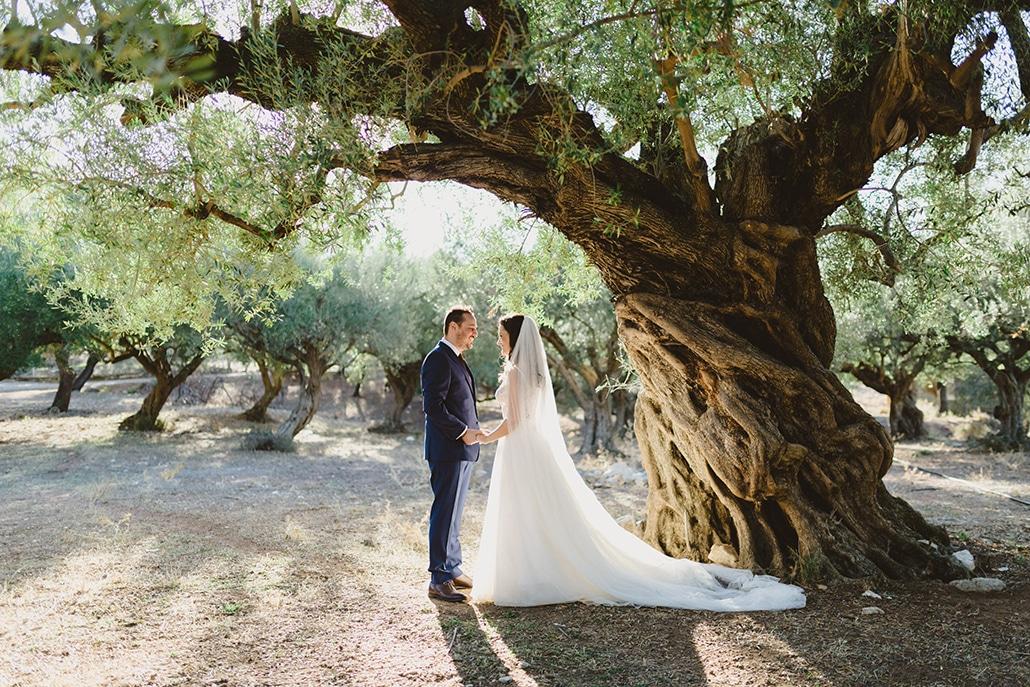 Μοντέρνος καλοκαιρινός γάμος με γεωμετρικά σχήματα | Γεωργία & Κωστής