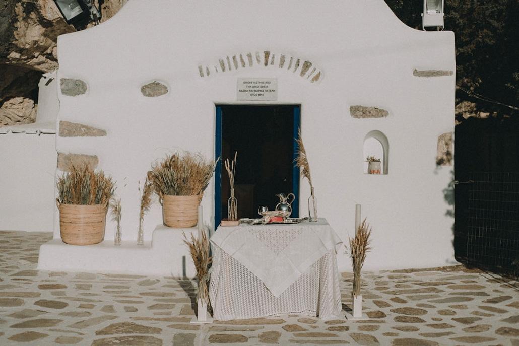 Υπέροχες ιδέες διακόσμησης για τον πιο όμορφο bohemian γάμο σε νησί