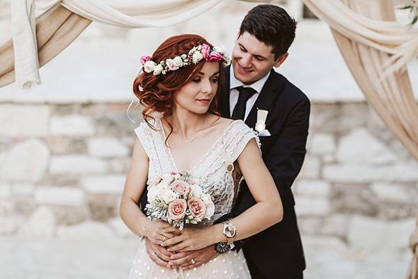 Πανέμορφος καλοκαιρινός γάμος με bohemian λεπτομέρειες και αποχρώσεις του σάπιου μήλου │ Στεφανία & Γιώργος