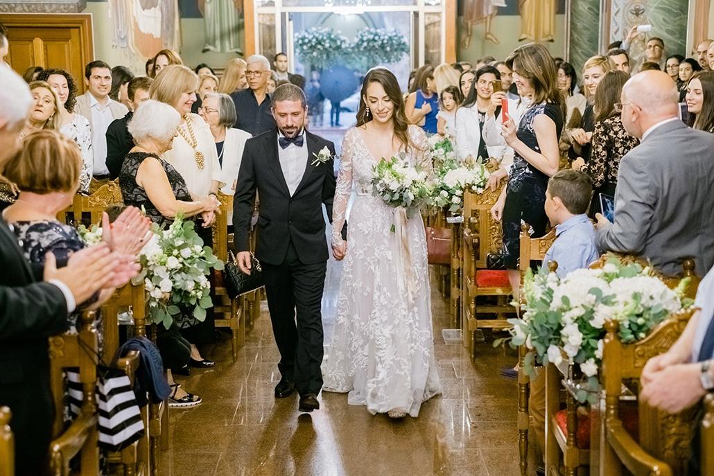 Elegant φθινοπωρινός γάμος στην Λευκωσία με ρομαντικές λεπτομέρειες και λευκές αποχρώσεις | Σουζάνα & Μιχάλης