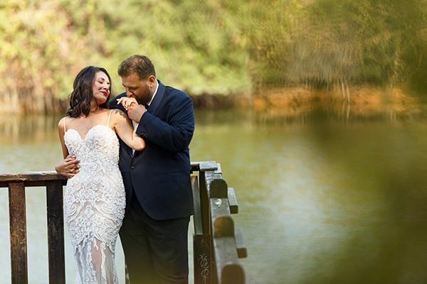 Φθινοπωρινός γάμος στην Χαλκιδική με pampas grass και πρωτέα │ Έλλη & Δημήτριος