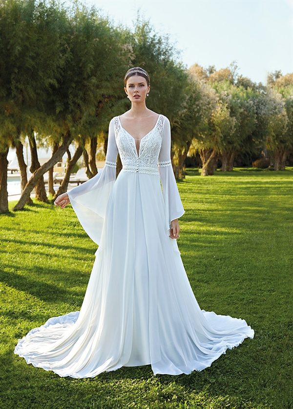 flowy-wedding-dresses-demetrios-stylish-modern-bridal-look-cosmobella-destination-romance-collection_01