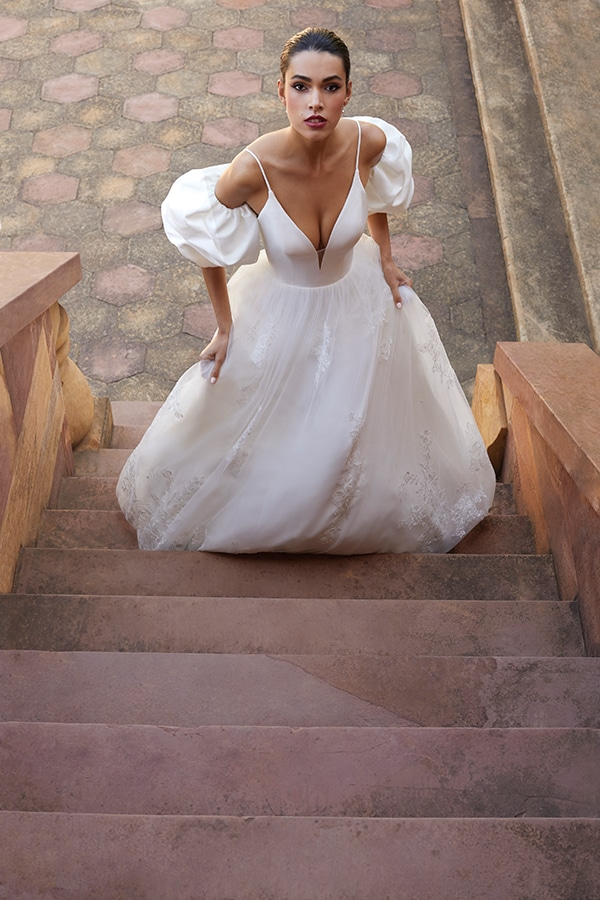 flowy-wedding-dresses-demetrios-stylish-modern-bridal-look-cosmobella-destination-romance-collection_03x