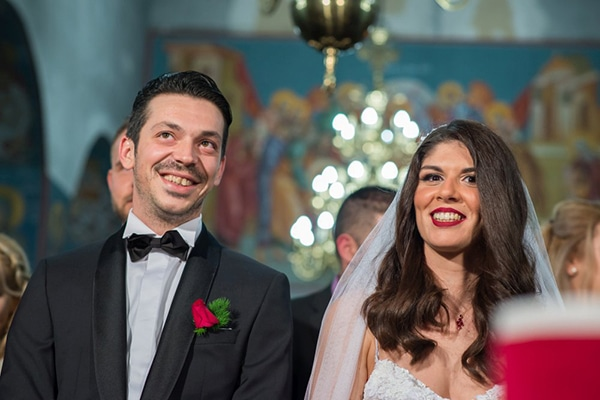 Μοντέρνος φθινοπωρινός γάμος στην Αθήνα σε μπορντό αποχρώσεις │ Θεοδώρα & Σπυρίδων
