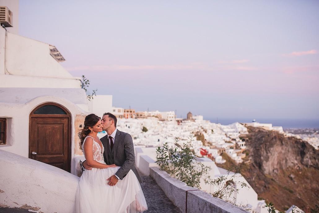 Ο πιο όμορφος καλοκαιρινός γάμος στο μαγευτικό Ημεροβίγλι στης Σαντορίνης │ Κατερίνα & Ηλίας