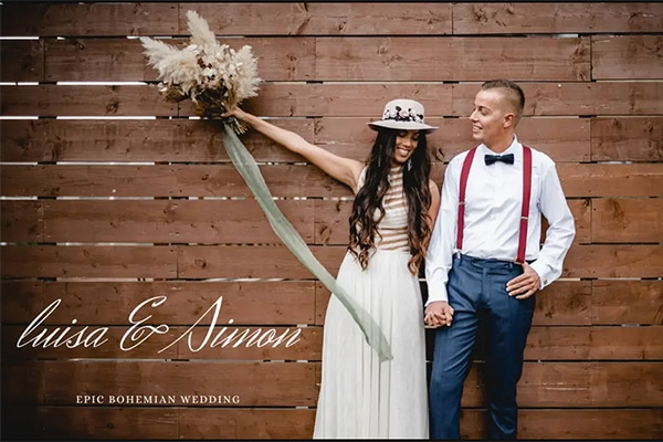 To πιο όμορφο βίντεο bohemian γάμου στην Κύπρο