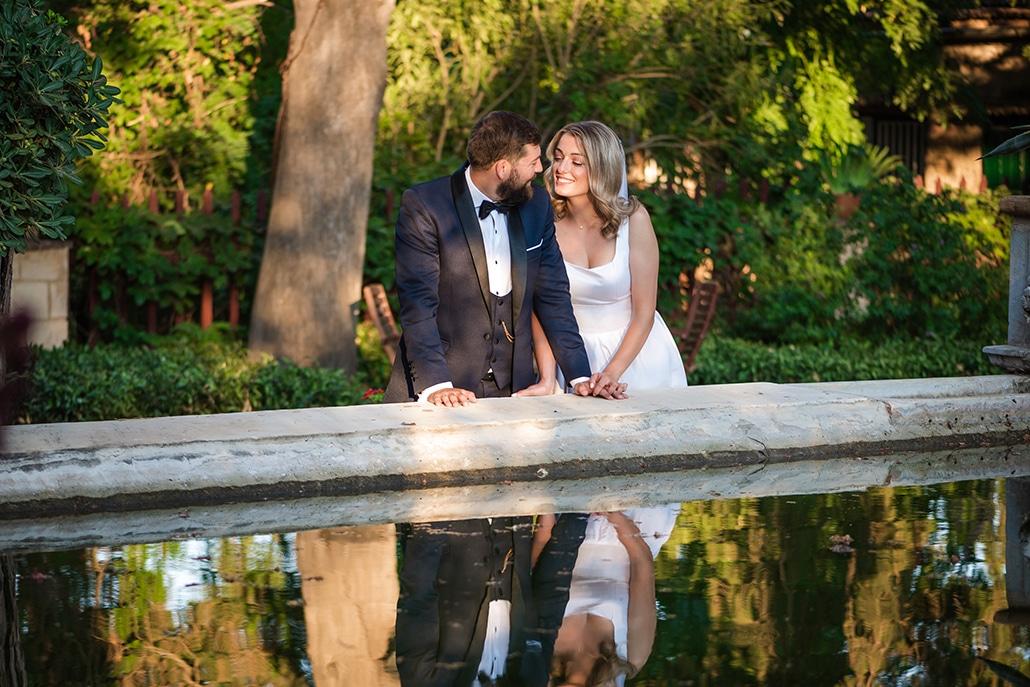 Ρομαντικός καλοκαιρινός γάμος στη Χίο σε ιβουάρ και λευκές αποχρώσεις│ Χριστίνα & Αντώνης