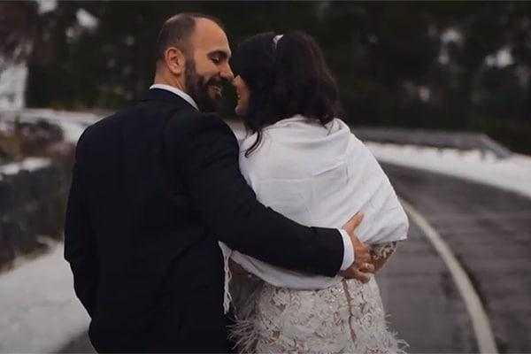 Ρομαντικό βίντεο γάμου στα χιονισμένα βουνά του Τρόοδους │ Μαρίνα & Στυλιανός