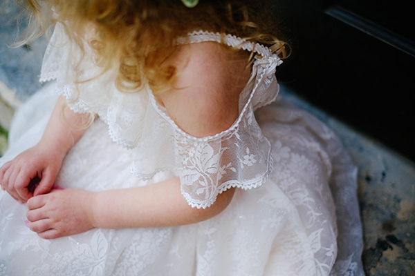 φορεματα για παρανυφακια με τουλι