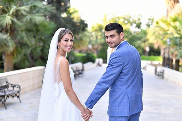 Όμορφος υπαίθριος γάμος στην Λευκωσία με ρομαντική διακόσμηση │ Άντρη & Κωνσταντίνος