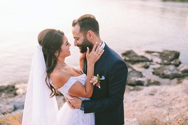Πανεμορφος γαμος στην Αθηνα με dusty pink λουλουδια | Tracy & Aboudy