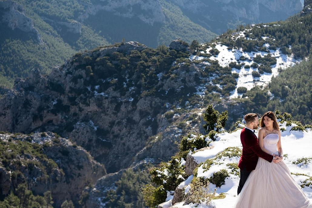 Υπέροχος χειμωνιάτικος γάμος στην Αθήνα│Θεώνη & Βασίλης
