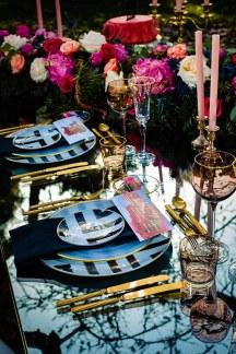 Μοντερνο elegant tableware για τραπεζια δεξιωσης γαμου
