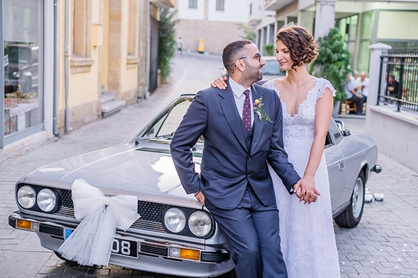Μοντέρνος ρουστίκ φθινοπωρινός γάμος στην Λευκωσία με εντυπωσιακό ανθοστολισμό │ Τάνια & Γιάννης